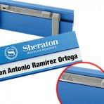 Identificador de aluminio