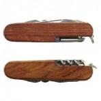 Cortaplumas de madera 15 funciones