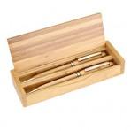 Set Boligrafo de Bamboo
