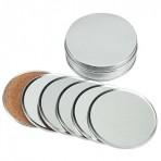 Set Posavasos de Aluminio