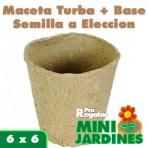 Minijardin Ecologico Turba Pequeño
