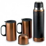 Set outdoor Copper termo y 2 mugs