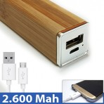 Power Bank Bamboo BP4 Amaral
