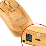 Mouse Bamboo Laser