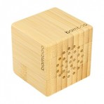 Parlante Bamboo Cubo